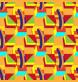 multicolored decorative seamless boxes cubes on vector image