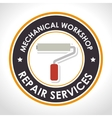 repair services design vector image