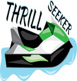 Thrill Seeker vector image vector image