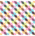creative geometric seamless pattern - colorful vector image vector image