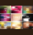 gradient pattern set collection background with vector image vector image