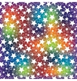 holiday background the rainbow blur and the stars vector image vector image