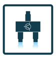 Smd transistor icon vector image vector image