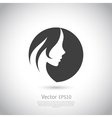 Woman logo vector image