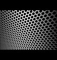 abstract silver circle mesh 3d background vector image