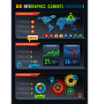 25 Infographics design elements vector image