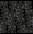 dark gray floor tiles seamless pattern vector image