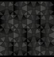 dark gray floor tiles seamless pattern vector image
