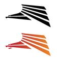 eagle predator vector image vector image