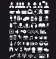 icons web big pack vector image vector image