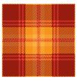 Red Tartan Plaid Pattern Design vector image vector image
