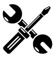 tools repair icon simple style vector image vector image