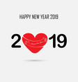 201 and 9 and hand sign with holiday background vector image