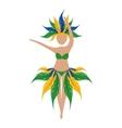 brazil symbols design vector image vector image