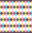 colorful seamless stylish pattern - vintage design vector image vector image