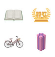 education transport and other web icon in cartoon vector image vector image