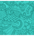 Hand drawn grass seamless pattern vector image vector image