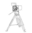 movie-cinema camera concept vector image