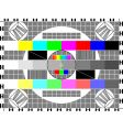 TV card vector image
