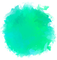 Watercolor Splotch vector image vector image