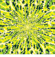Yellow and green backdrop vector image vector image