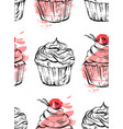 hand drawn abstract graphic delicious vector image