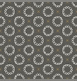 monogram seamless pattern vector image