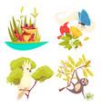 Animals jungle design concept