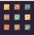 App icon weather vector image