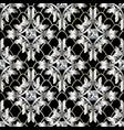 baroque 3d seamless pattern vintage antique vector image vector image