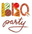 BBQ party vector image vector image