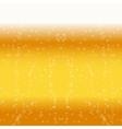 Beer foam background vector image
