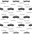 car cute baby scandinavian seamless pattern vector image vector image