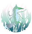 Cartoon werwolf vector image vector image