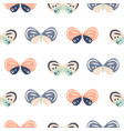 cute pastel color butterfly cartoon baby seamless vector image vector image