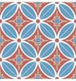 decorative mosaic seamless pattern vector image vector image