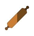 dough rolling pin vector image