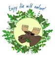 Enjoy The Wild Nature vector image