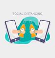 flat design concept online education training vector image vector image