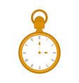 isolated pocket watch icon vector image vector image