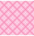 Pink Tartan Diamond Background vector image vector image