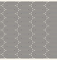 seamless pattern concentric wavy lines vector image vector image