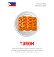 turon national filipino dish vector image vector image
