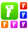 barcode scanner set collection vector image vector image