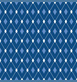 seamless male pattern blue diamonds vector image vector image