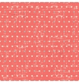 Seamless retro pattern of valentines hearts vector | Price: 1 Credit (USD $1)