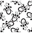 a wonderful musical pattern on a white background vector image vector image