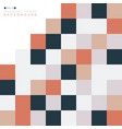 abstract of square pattern geometric background vector image vector image