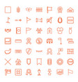 banner icons vector image vector image