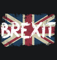 brexit vector image vector image
